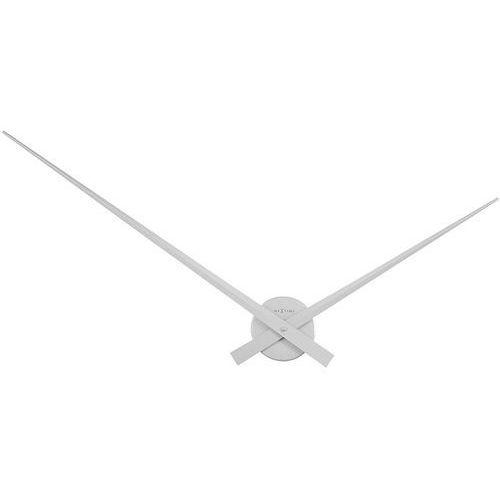 Zegar ścienny Hands Nextime 90 cm, srebrny (2269 ZI), 3120st