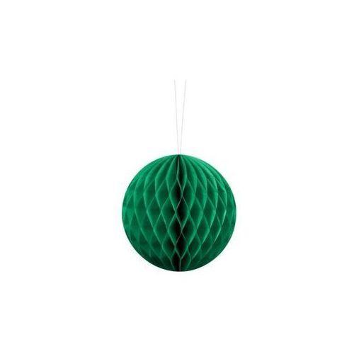 Party deco Dekoracja wisząca kula szmaragdowozielona - 10 cm - 1 szt. (5901157497482)
