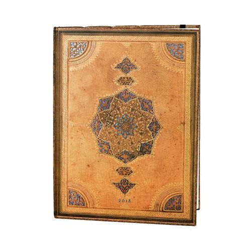 Paperblanks Kalendarz książkowy ultra 2018 12m safavid (9781439742686)