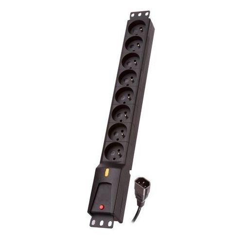 Lestar Listwa zasilająca LZRM 810 BW IEC 320, PDU, 5,0m