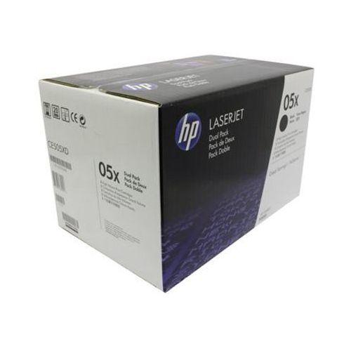 Tonery Oryginalne HP 05X (CE505XD) (Czarne) (dwupak) - DARMOWA DOSTAWA w 24h, kup u jednego z partnerów