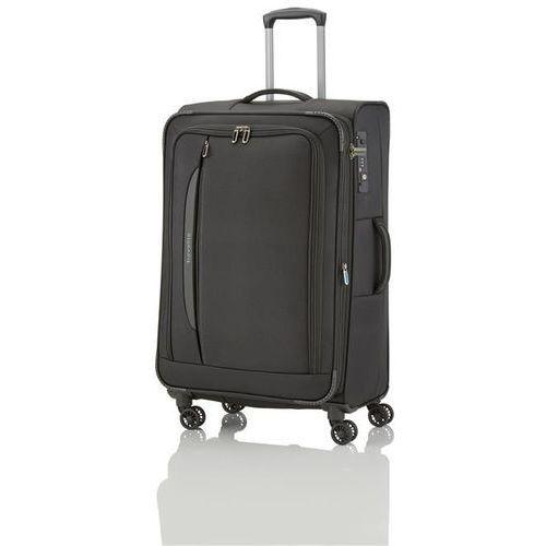 crosslite walizka duża 102/115l schwarz 4-koła marki Travelite