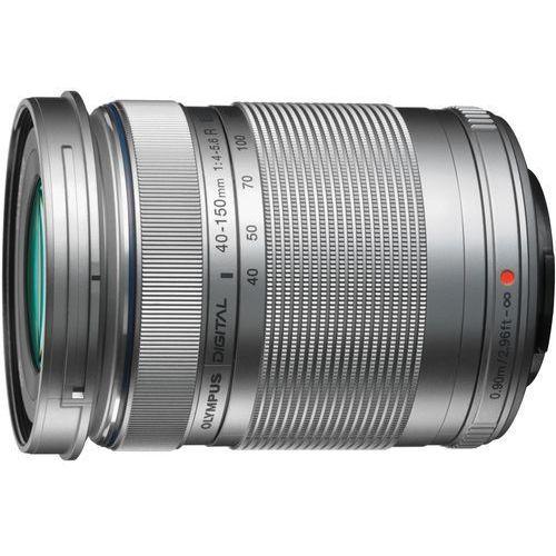 Obiektyw OLYMPUS M.Zuiko Digital ED 40-150mm 1:4.0-5.6 R Srebrny + pokrowiec