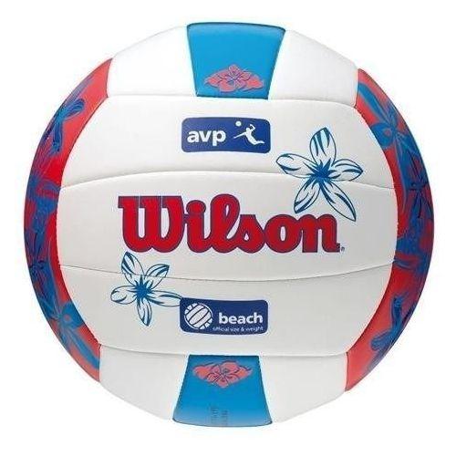 Piłka siatkowa Wilson AVP HAWAII czerwono - niebieska 4825