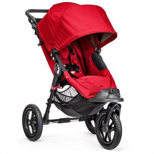 wózek spacerowy city elite, red marki Baby jogger