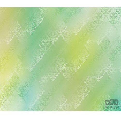 Fototapeta tradycyjne kwiatowe wzory – żółto-zielone barwy 1464 marki Consalnet