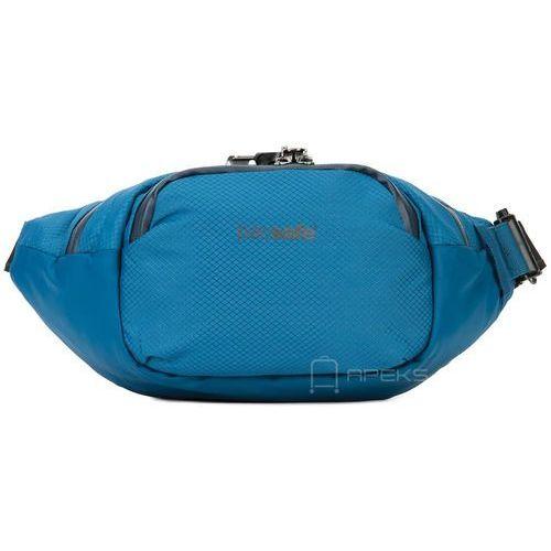 "venturesafe x waistpack saszetka biodrowa / nerka na tablet 7"" / niebieska - blue steel marki Pacsafe"