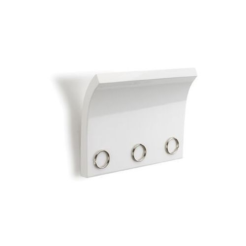 - panel na klucze i listy, biały, magnetter marki Umbra
