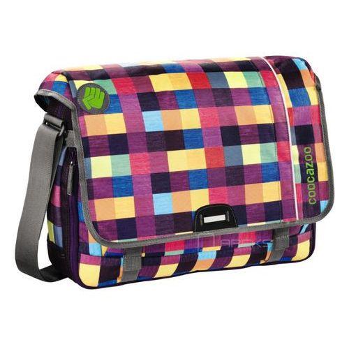 "Coocazoo HangDang II torba na ramię - laptop 15,6"" / Melange A Trois Pink - Melange A Trois Pink, kolor fioletowy"