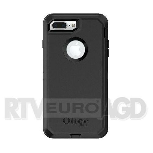 Otterbox defender iphone 7/8 plus + klips (czarny)