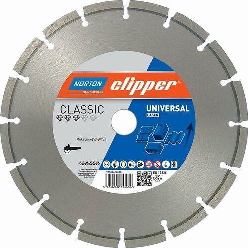 NORTON CLIPPER Classic Universal Laser 350mm/20mm 10/2,8 TARCZA DIAMENTOWA 70184626841 (5450248353485)