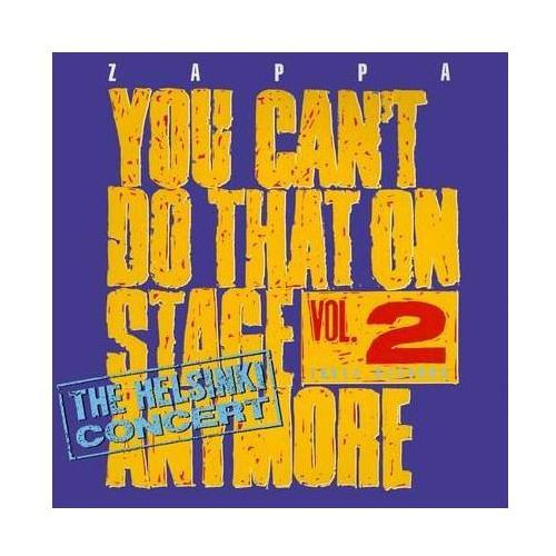 Universal music Frank zappa - you can't do that on stage anymore vol.2 - the helsinki concert (0824302387825)