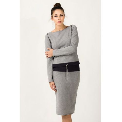Bluza Damska Model Milena 6 Light Grey/Dark Grey