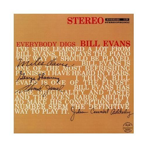 Everybody Digs Bill Evans (Keepnews Collection) [P] - Bill Evans (Płyta CD)
