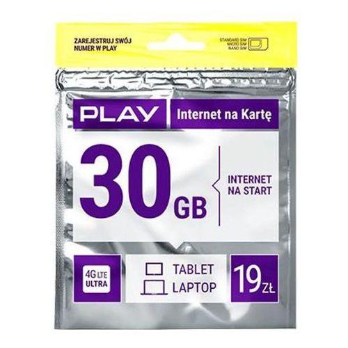 internet na kartę 19pln - produkt w magazynie - szybka wysyłka! marki Play