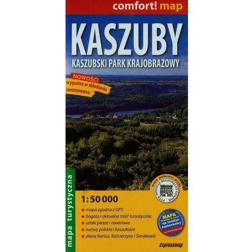 Kaszuby Kaszubski Park Narodowy Mapa Turystyczna (2 str.)