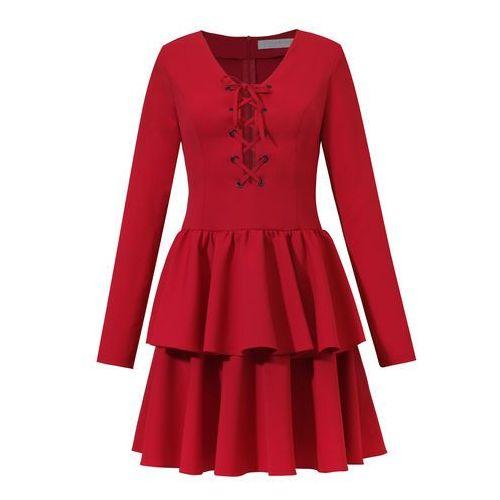 Sukienka Celestine w kolorze czerwonym