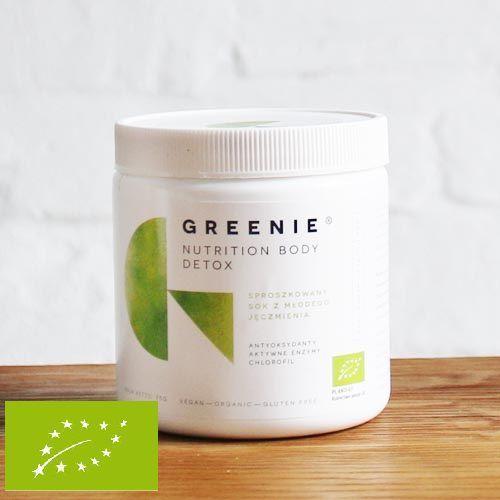 GREENIE ® - Sproszkowany BIO Sok z Młodego Jęczmienia 75g