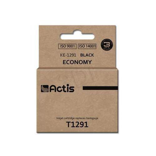 Actis Tusz  ke-1291 (do drukarki epson, zamiennik t1291 standard 18ml czarny)