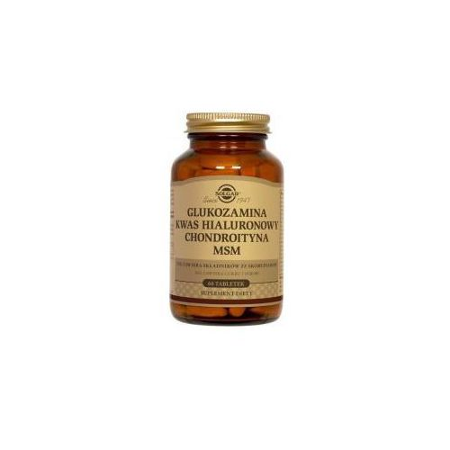 SOLGAR Glukozamina, Chondroityna, MSM kompleks 60 tabletek