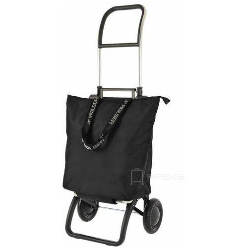logic minibag wózek na zakupy / składany / mnb009 negro / czarny - czarny marki Rolser