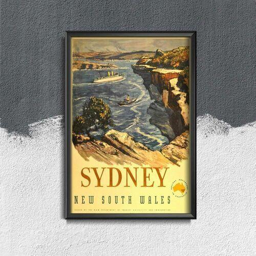 Plakat do pokoju plakat do pokoju australia sydney nowa południowa walia marki Vintageposteria.pl