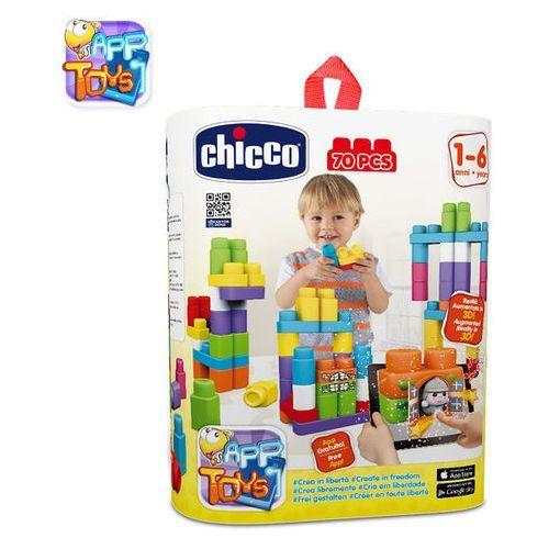 Chicco Chicco, klocki, 70 elementów Chicco, klocki, 70 el. Chicco, klocki, 70 el. (dziecięce klocki)