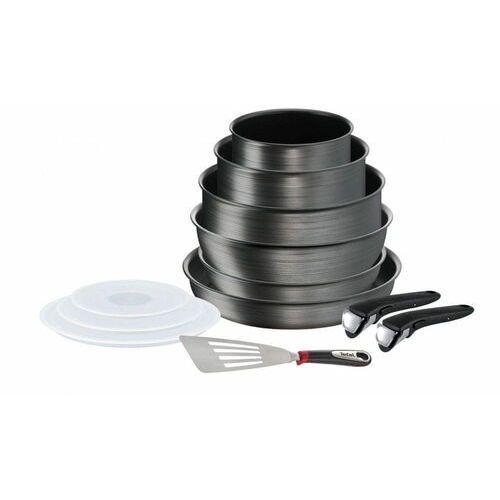zestaw naczyń 12 szt. ingenio titanium fusion l6839002 marki Tefal