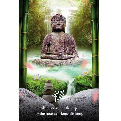 Zen Stones Budda - plakat motywacyjny (5028486156269)