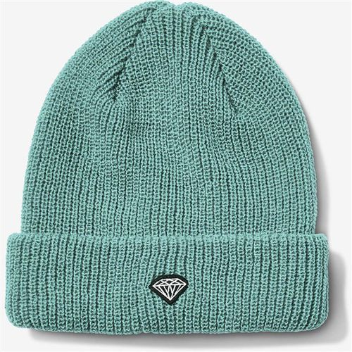 czapka zimowa DIAMOND - Brilliant Patch Beanie Diamond Blue (DBLU)