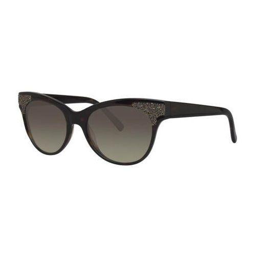Vera wang Okulary słoneczne presta tortoise