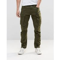 G-star rovic zip cargo pants 3d tapered - green
