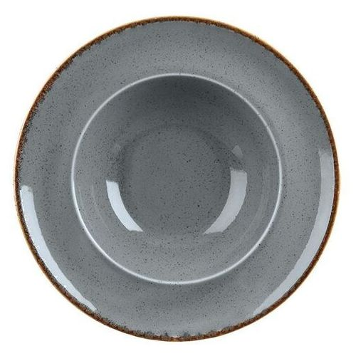 Fine dine Talerz do pasty stone   śr. 260 lub 300 mm