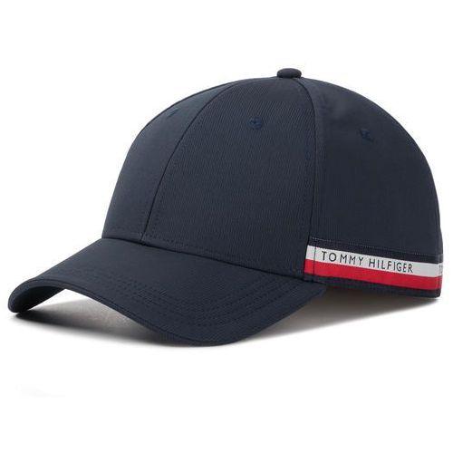 Tommy hilfiger Czapka z daszkiem - corporate selvedge cap am0am04853 413