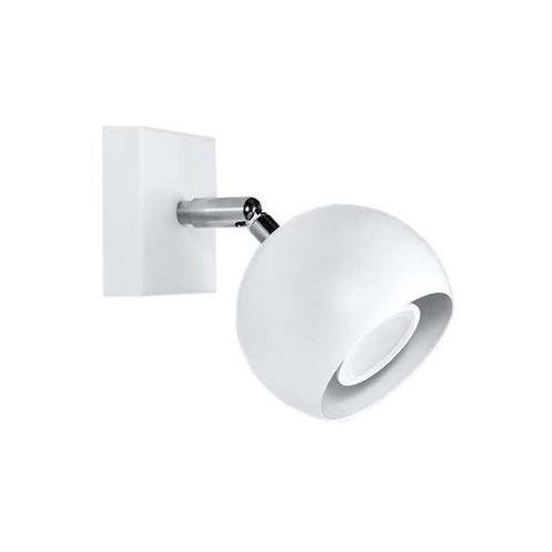 Kinkiet LAMPA ścienna SOL SL.437 regulowana OPRAWA reflektorek kula ball biała (5902622429366)