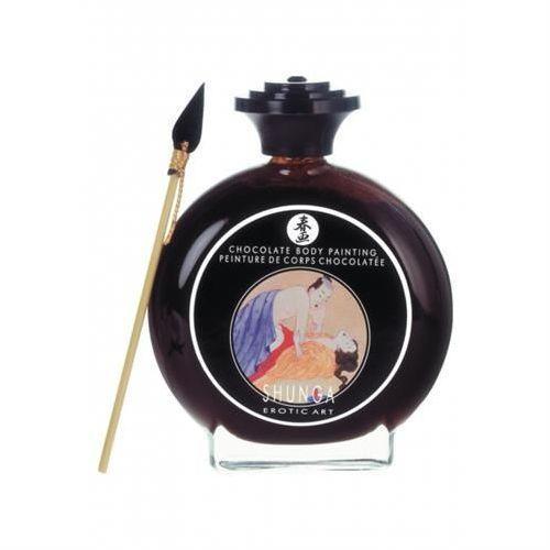 Shunga - Chocolate Bodypaint 100 ml - produkt z kategorii- Gadżety erotyczne