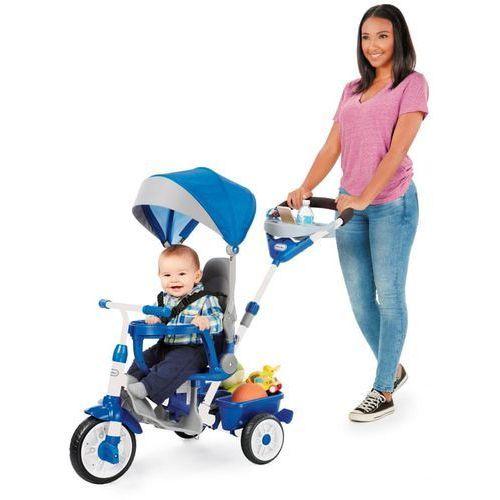 Little Tikes Trójkołowy rowerek 4w1 Perfect Fit, niebieski