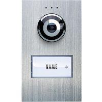Wideodomofon  vdv 610 compact, jednostka zewnętrzna, interkom drzwiowy z wideo, dom jednorodzinny marki M-e modern-electronics