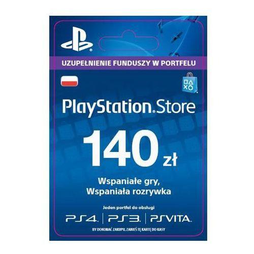 playstation network 140 zł [kod aktywacyjny], marki Sony