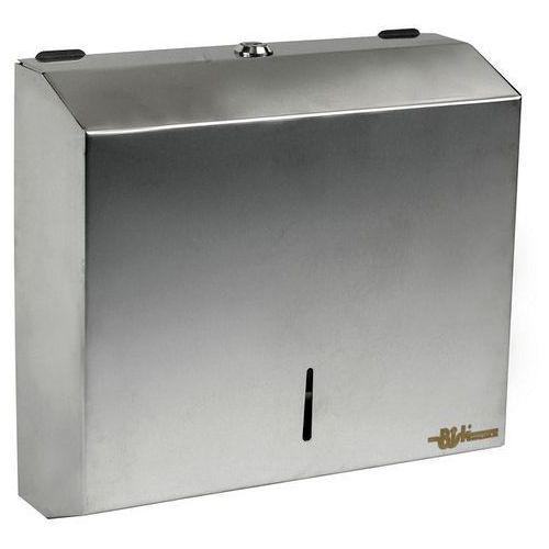 Pojemnik na ręczniki papierowe listki nierdzewny PL-S1, 00342