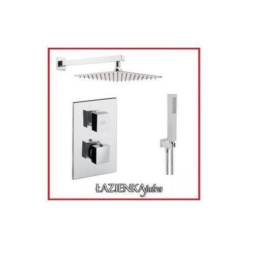 Zestawy Podtynkowy zestaw prysznicowy z paffoni level leq510, chrom zest65