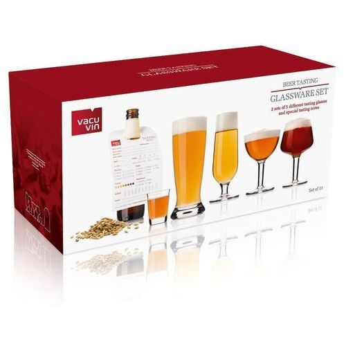Vacu Vin - Zestaw szklanek do degustacji piwa, 11 elem. (8714793764408)