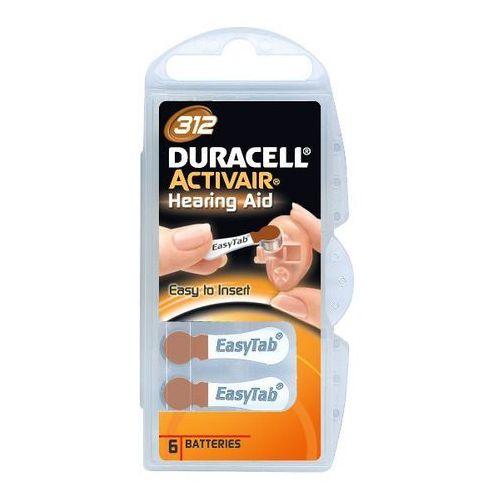 Baterie Słuchowe Duracell 312 - sprawdź w wybranym sklepie