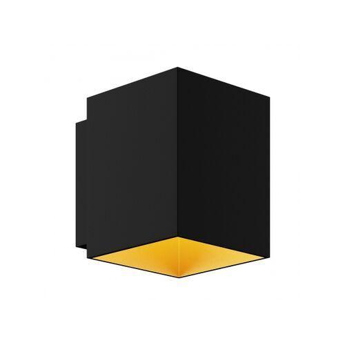Kinkiet SOLA WL SQUARE BLACK-GOLD 91063
