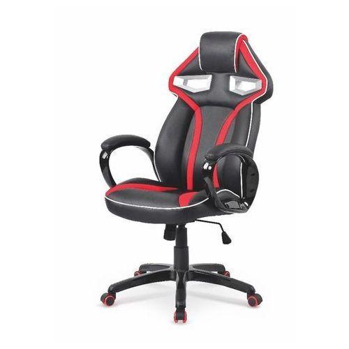 Glory fotel gamingowy dla graczy czarno-czerwony
