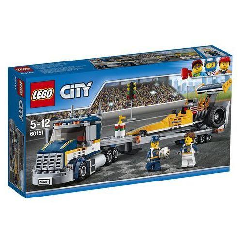 LEGO City: Dragster Transporter (60151)