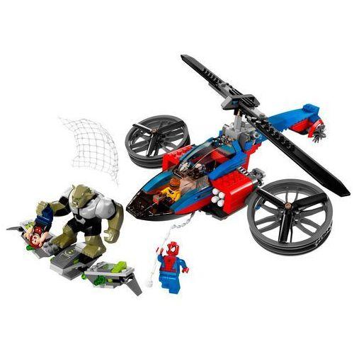 Zabawka Lego SUPER HEROES Centrum ratunkowe 76016 z kategorii [klocki dla dzieci]