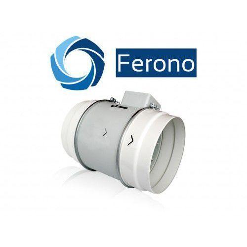 OKAZJA - Wentylator kanałowy, plastikowy 200mm, 840 m3/h (fkp200) marki Ferono