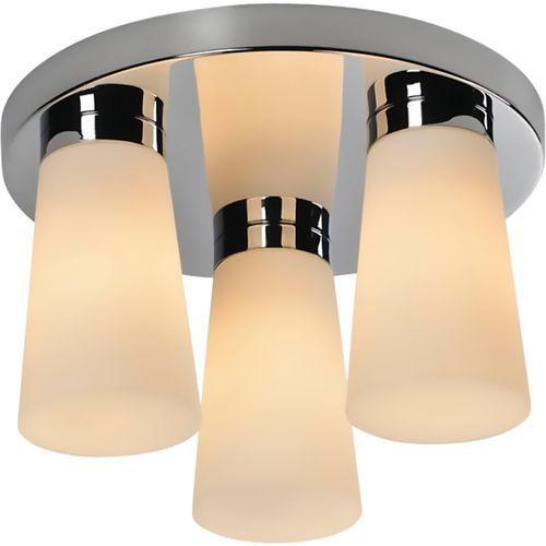 Plafon oprawa sufitowa TK Lighting Aqua 3x40W E14 biały/chrom 4013, 4013