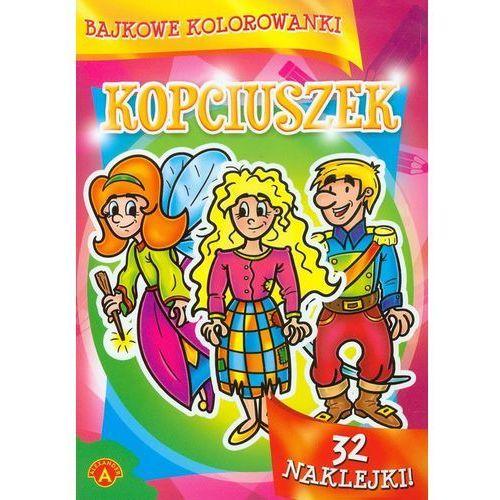 Bajkowe kolorowanki Kopciuszek - Praca zbiorowa - Zaufało nam kilkaset tysięcy klientów, wybierz profesjonalny sklep